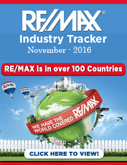 RE/MAX Industry Tracker - November 2016