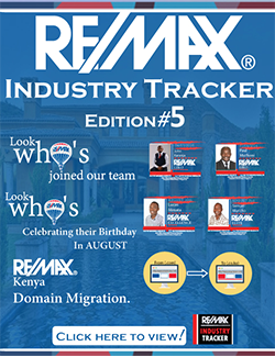 RE/MAX Industry Tracker - July 2016