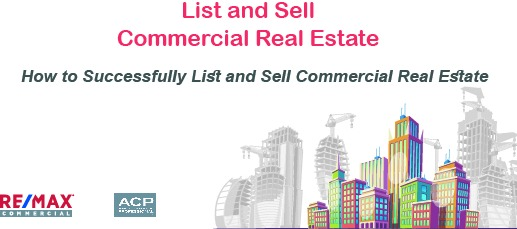 Commercial Real Estate Training - How to list and sell Commercial