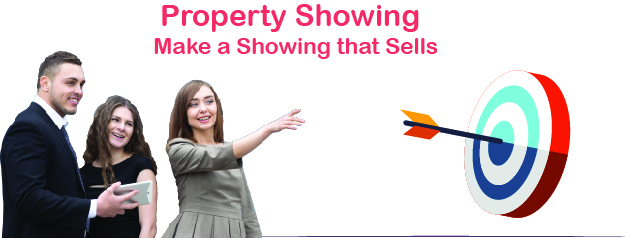 Real Estate Property Showing training banner