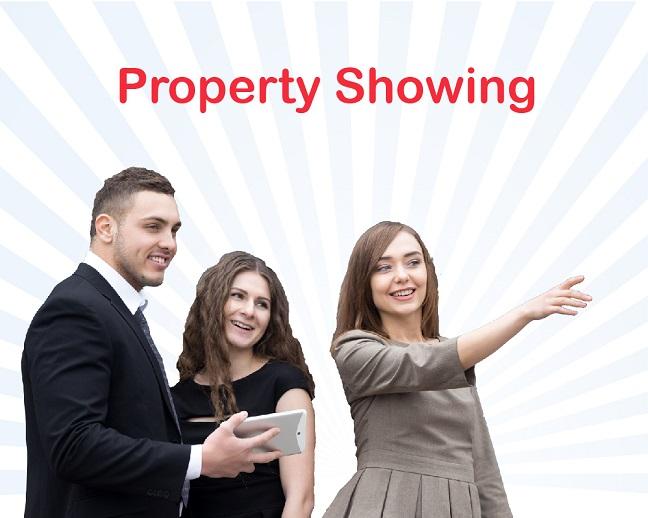 Property Showing training