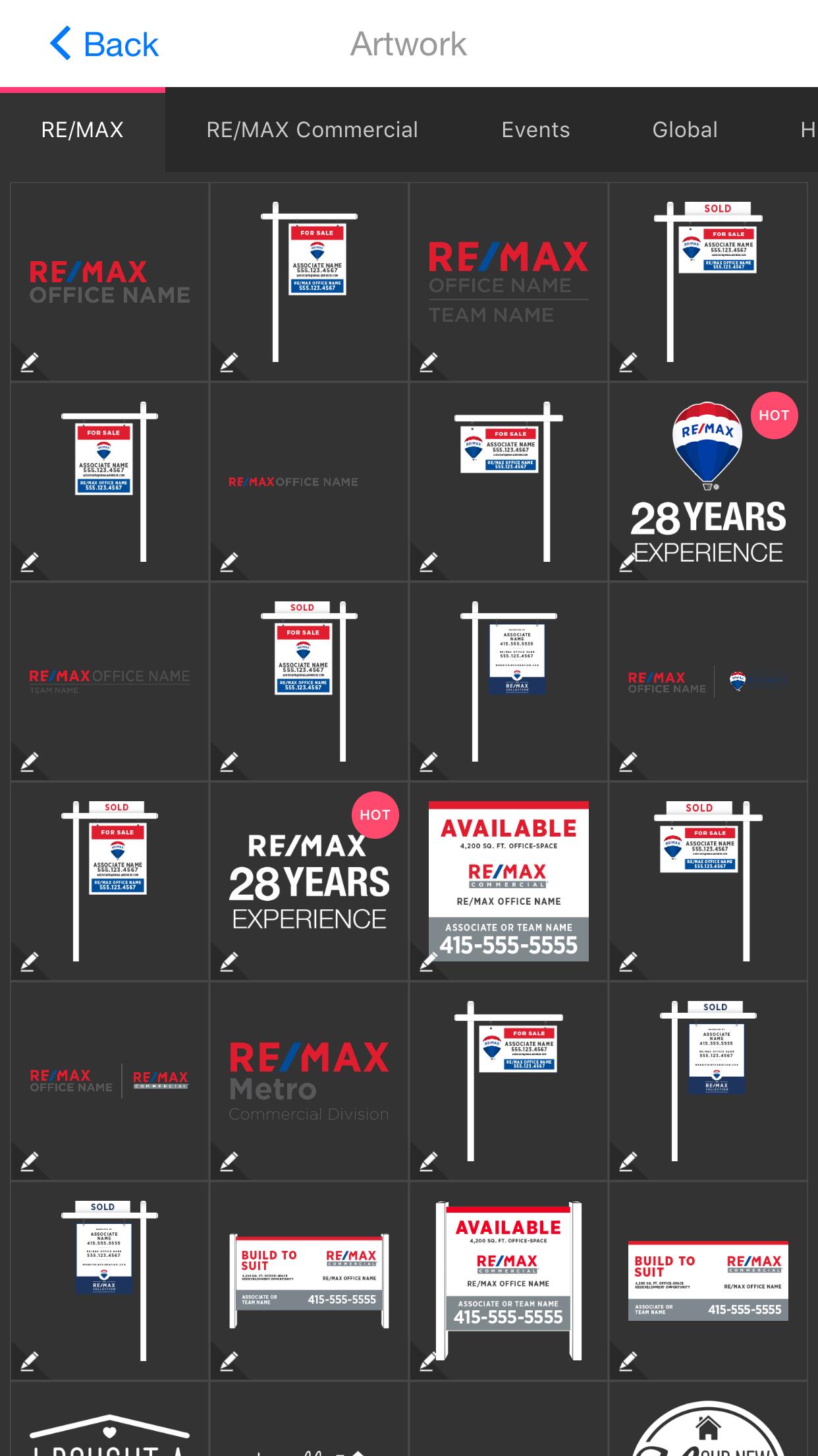 Real Estate Franchise app